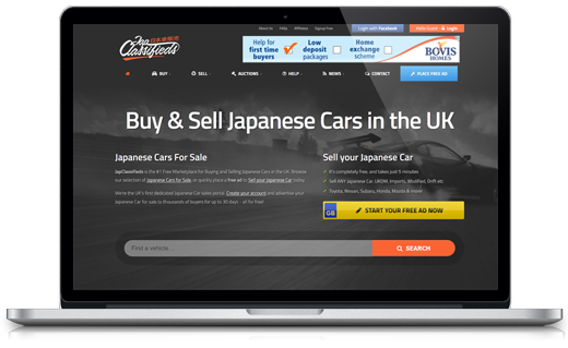 JapClassifieds WordPress Projects