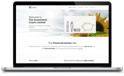 The Investment Coach WordPress Projects