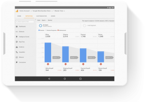 Google Analytics Tablet